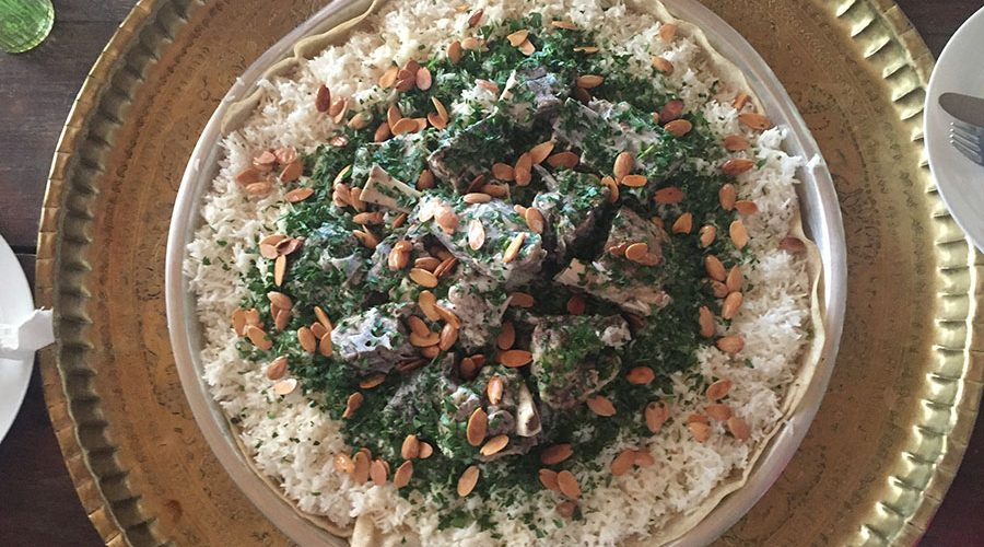 What is Mansaf Jordanian Food