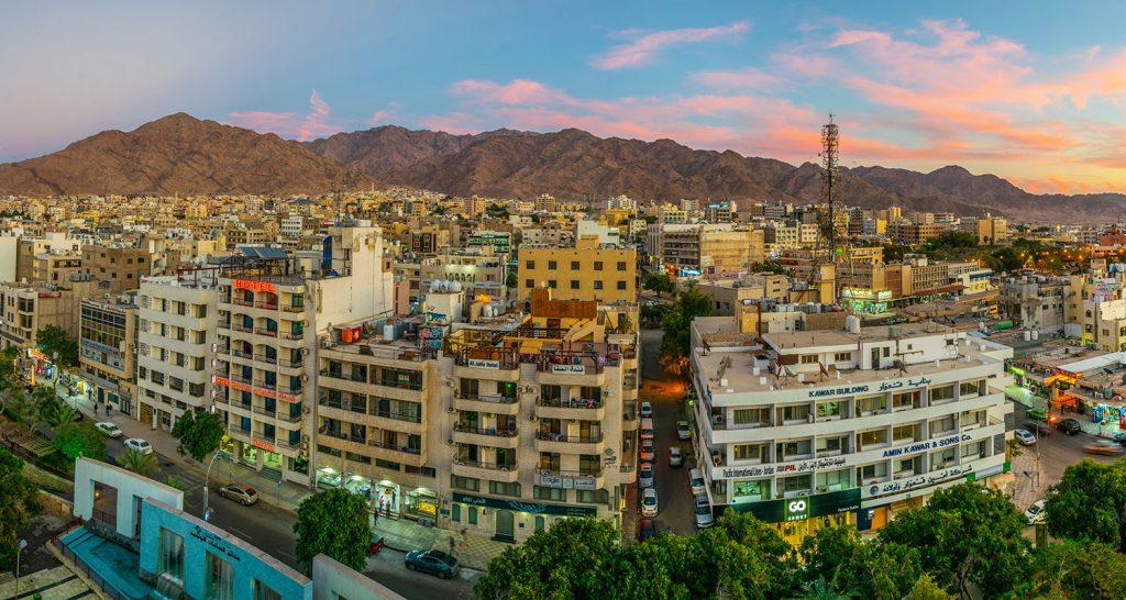 Jordan - Aqaba - City Scape