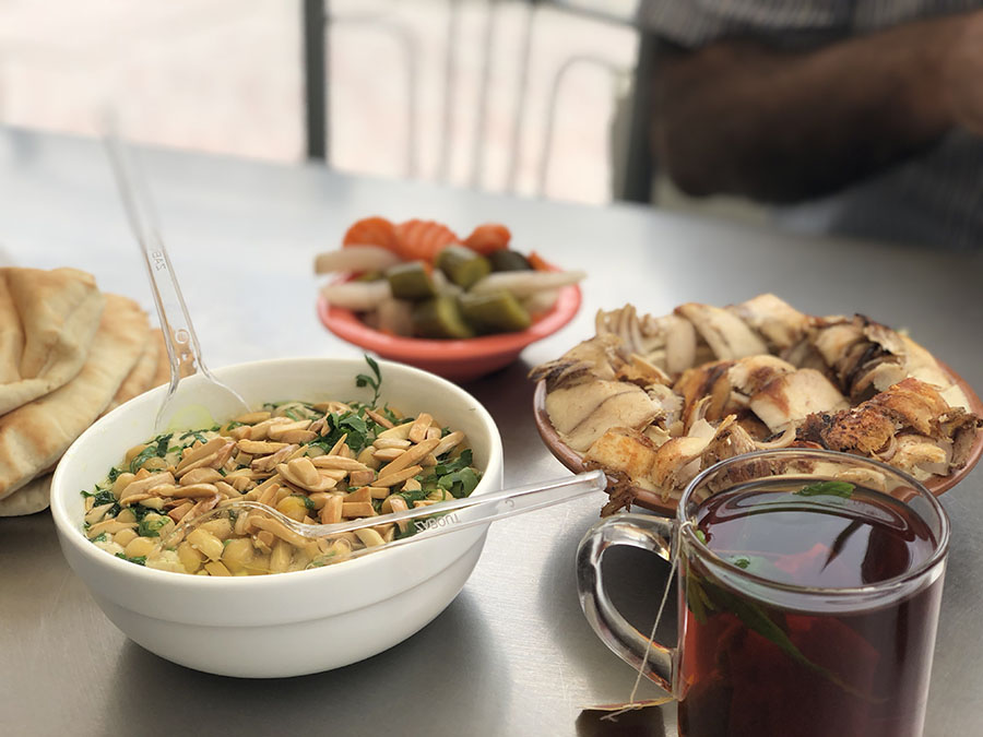 Jordan Food - Amman Breakfast Fatteh