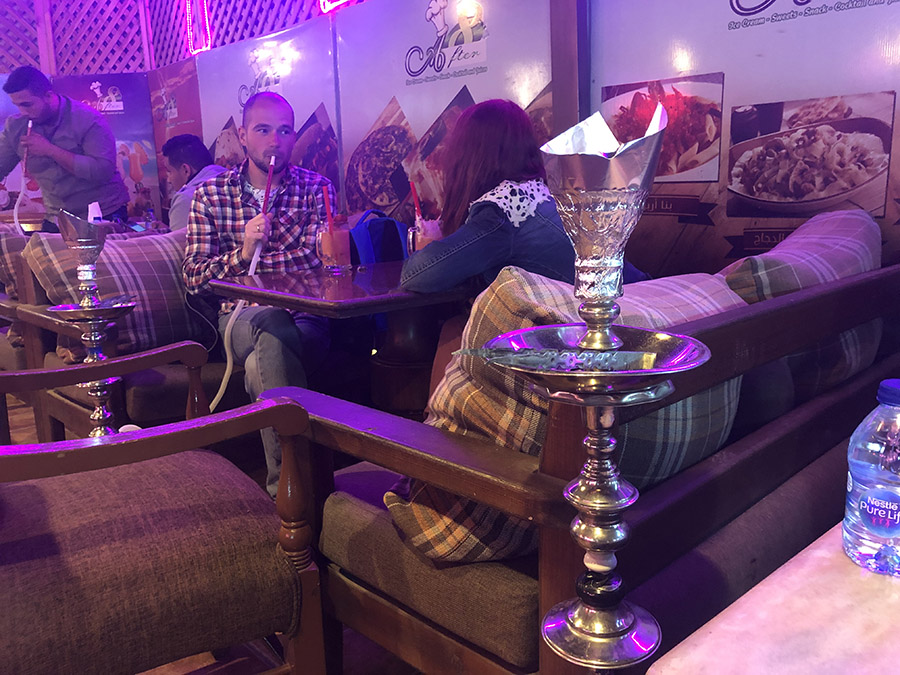 Dessert in Aqaba Ice Cream and Shisha