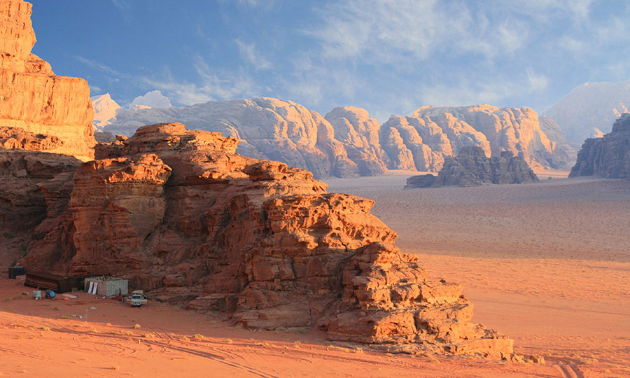How to Get from Amman to Wadi Rum