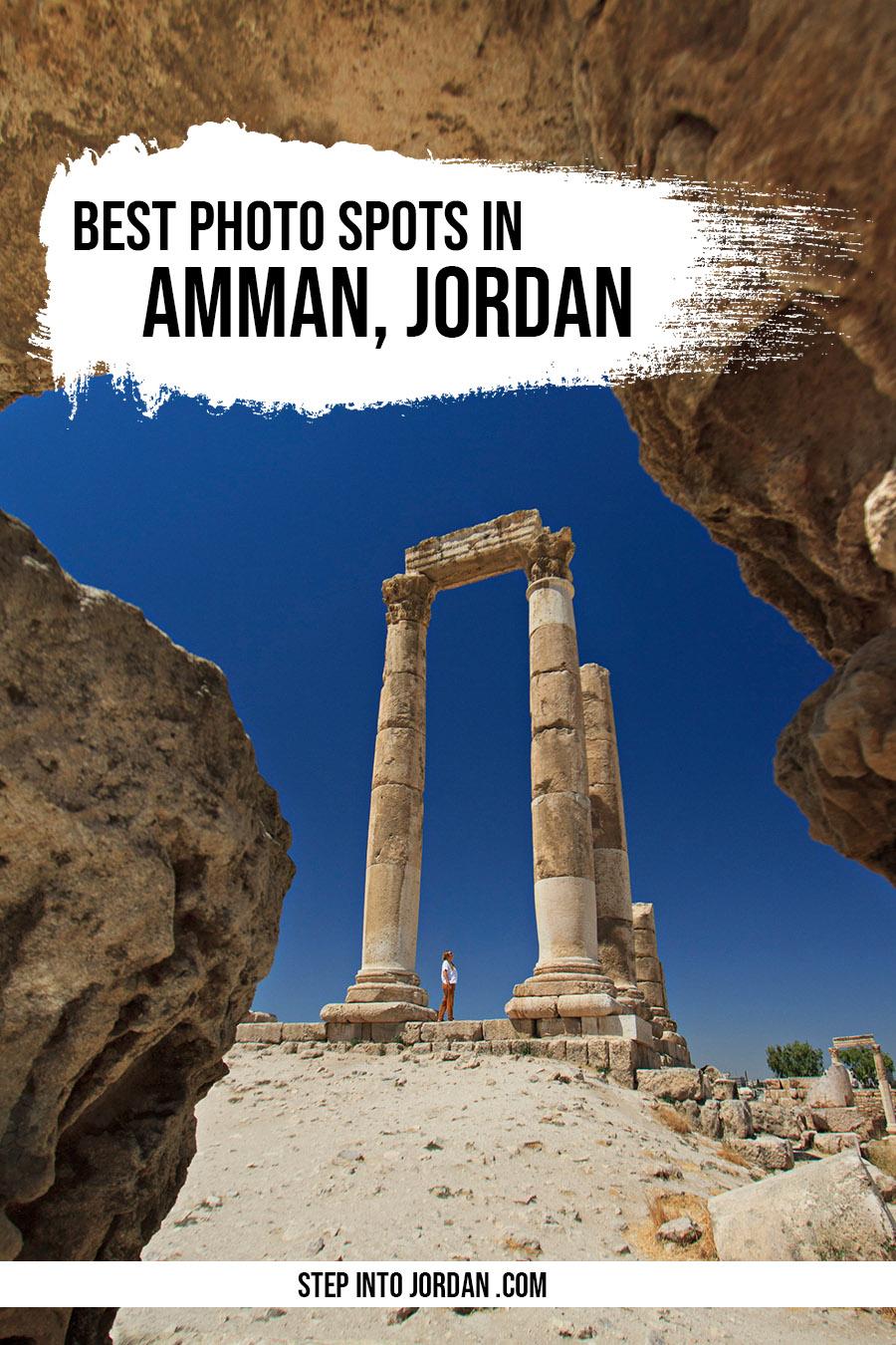 Instagrammable Places in Amman Jordan