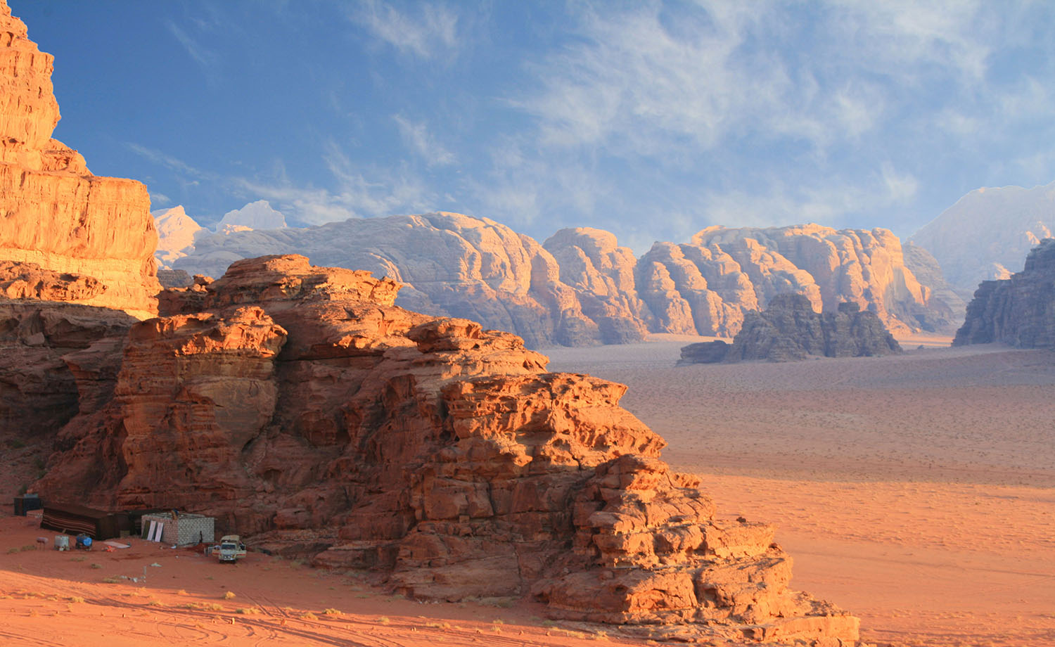 Jordan - Wadi Rum - Wadi Rum Mountains