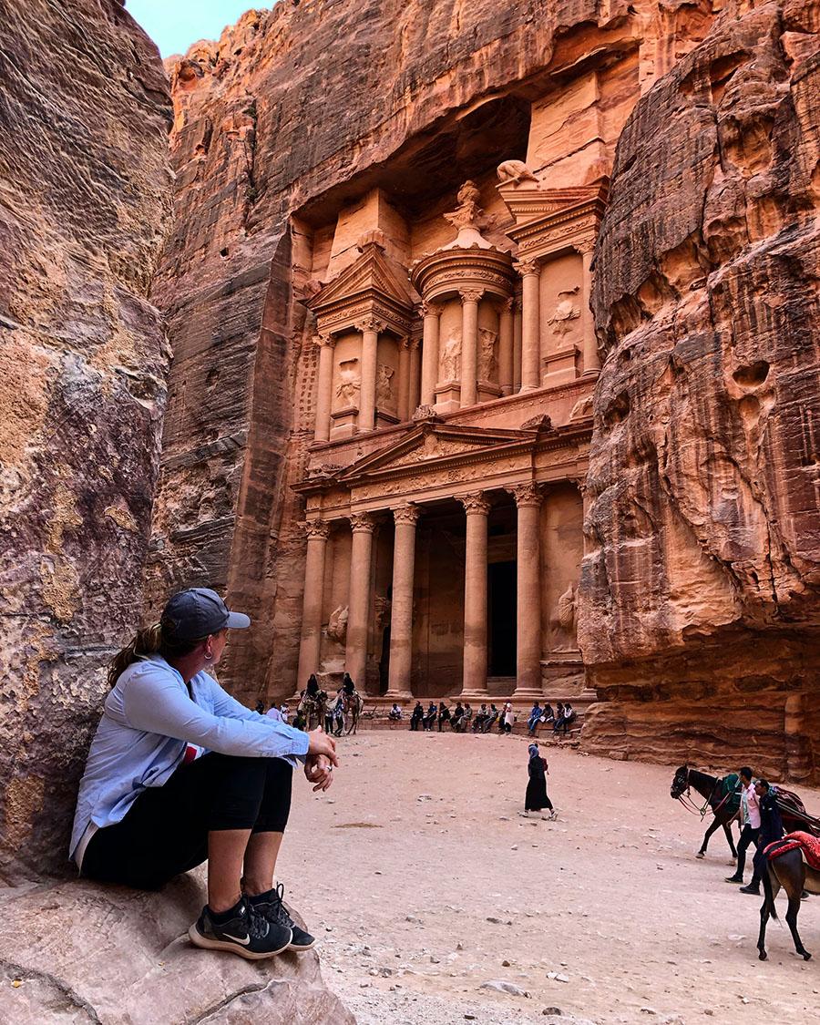 Jordan - Petra - Treasury Photo Spot