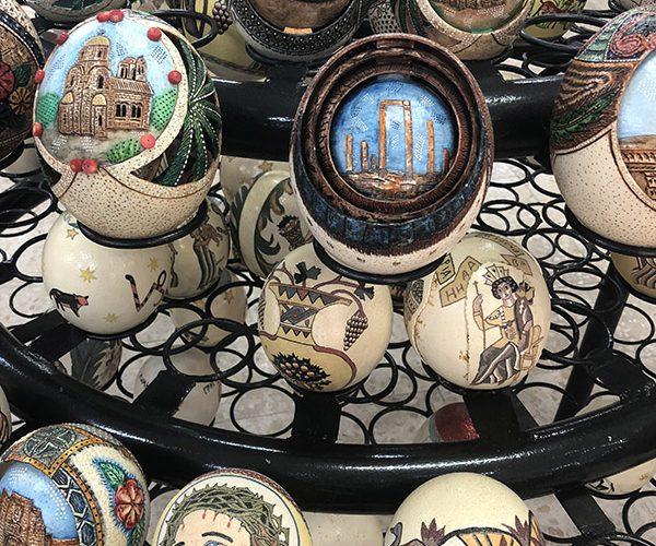 Jordan Ostrich Egg