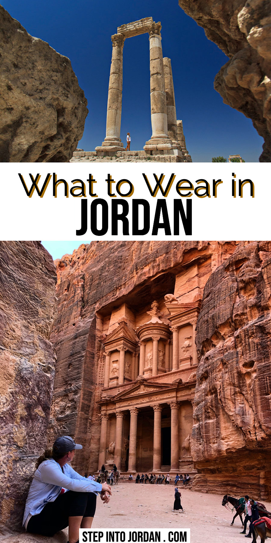 What to Wear in Jordan for Men and Women