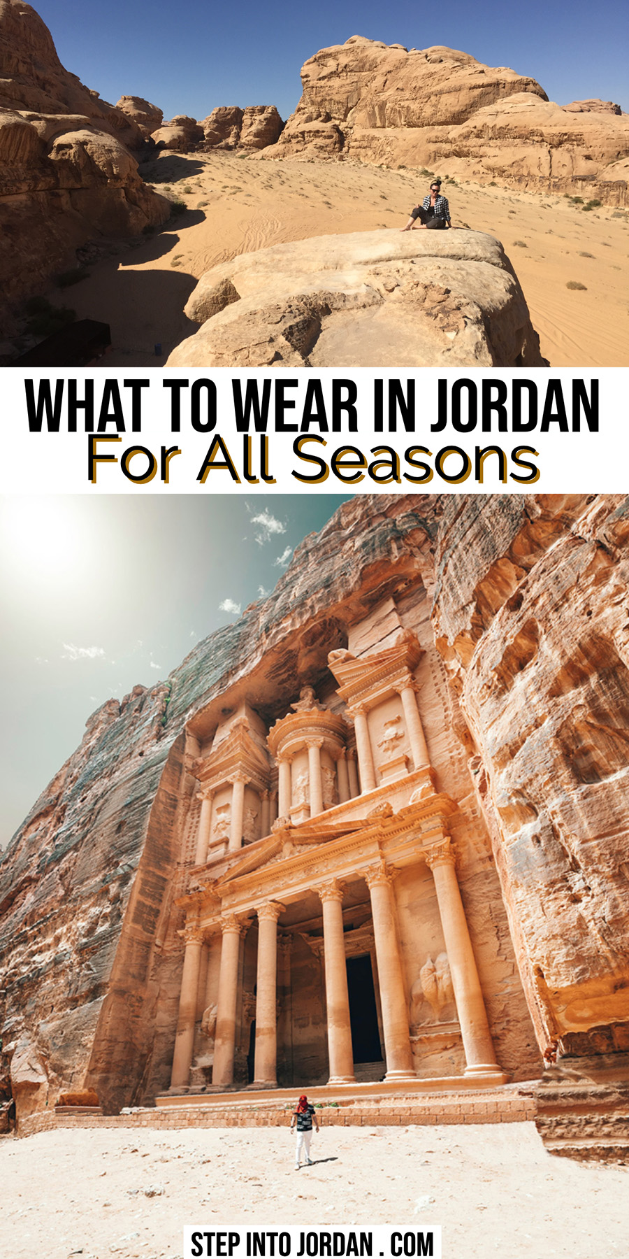 What to Wear in Jordan for All Seasons