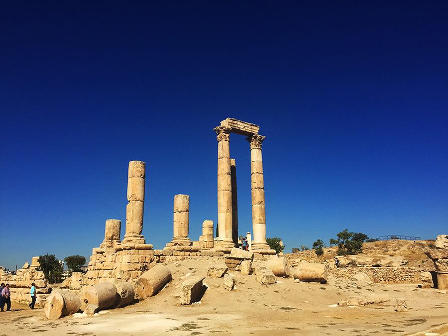 Jordan - Amman Citadel Hercules Temple