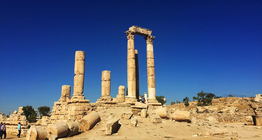 Jordan - Amman Citadel