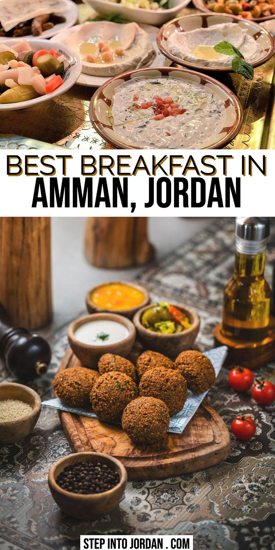 best Breakfast in Amman Jordan