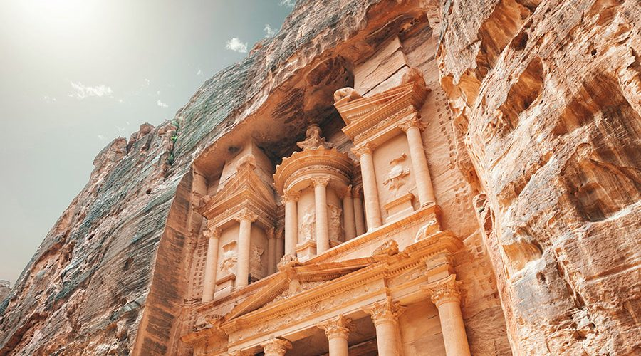 Jordan - Petra - Treasury in the Morning