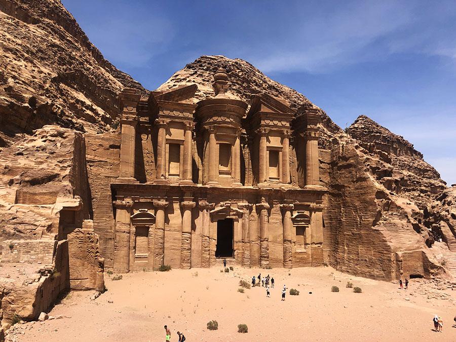 Jordan - Petra Monastery