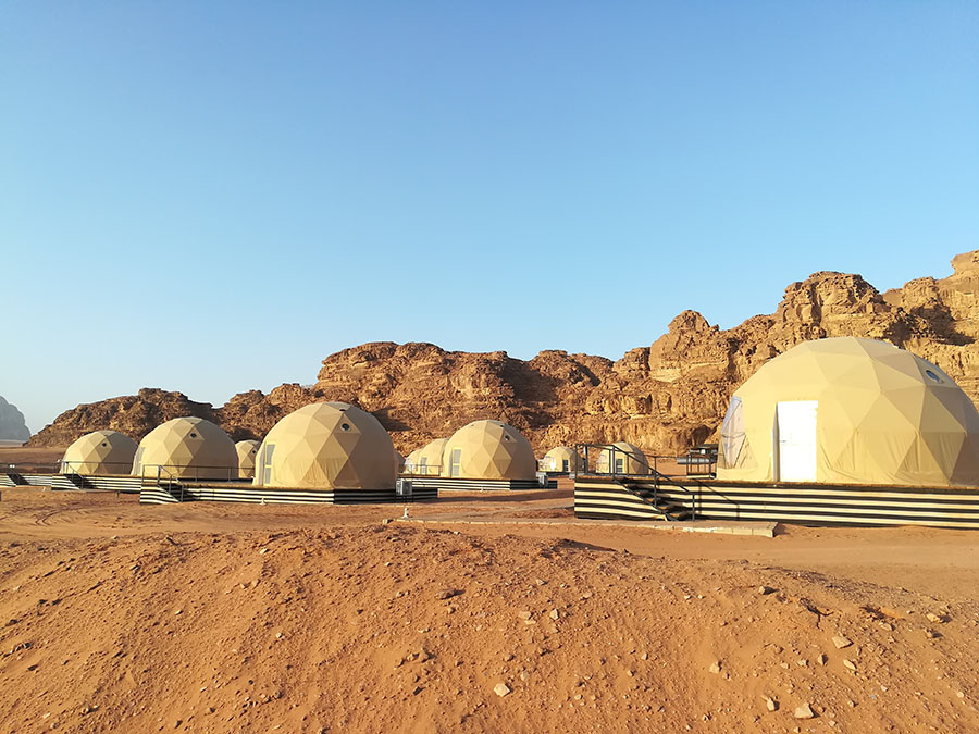 Jordan - Wadi Rum - Martian Tent Sun City Camp