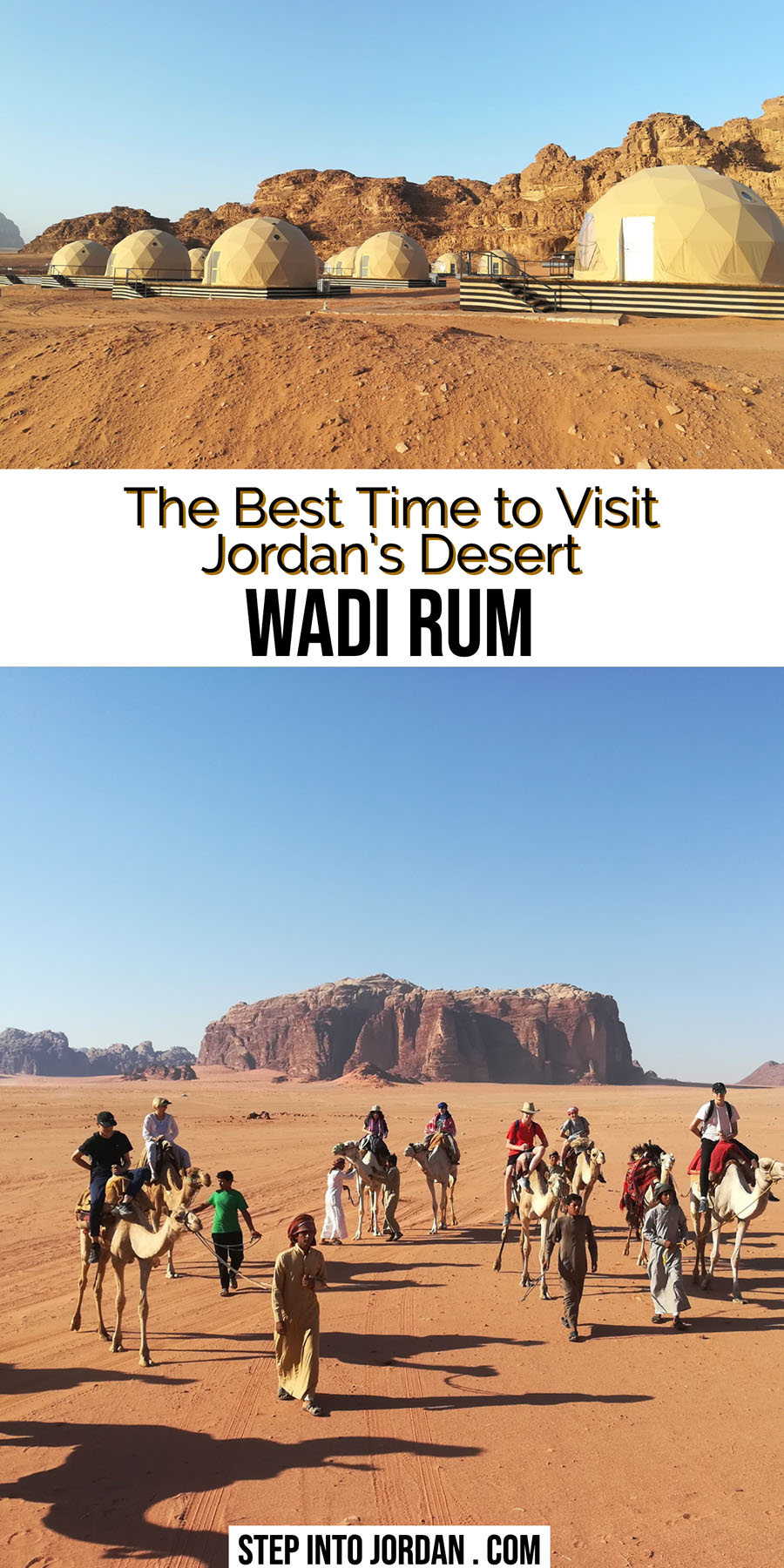 Best Time to Visit Wadi Rum Jordan Desert