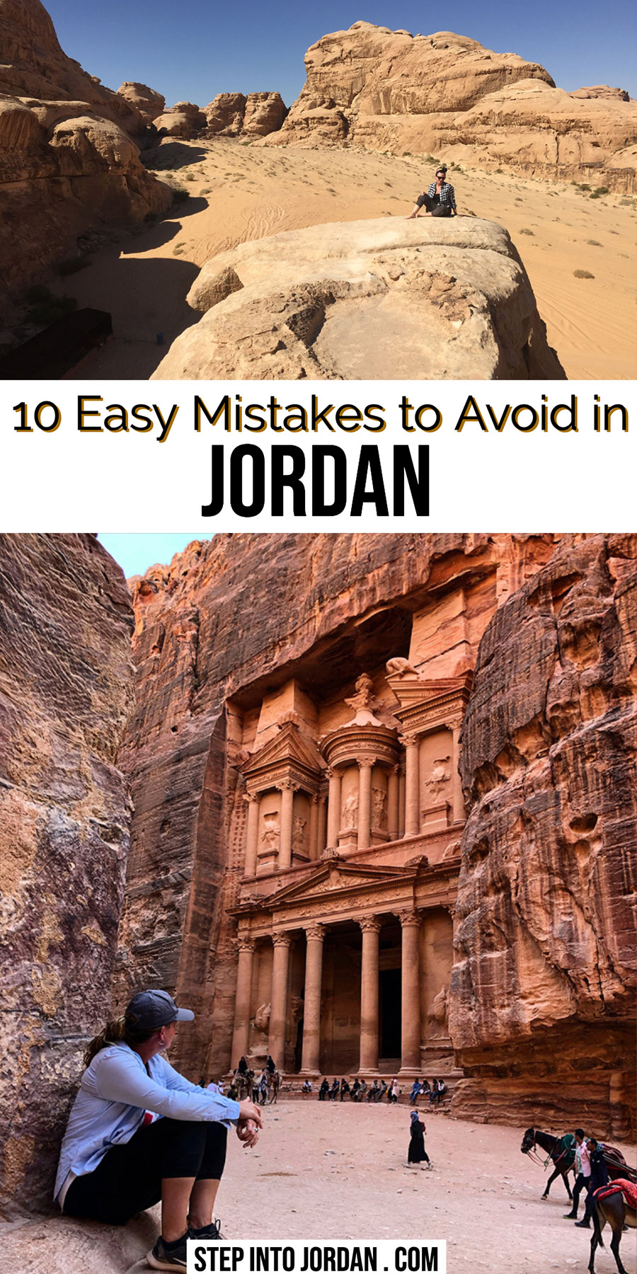 mistakes to avoid when planning a trip to Jordan