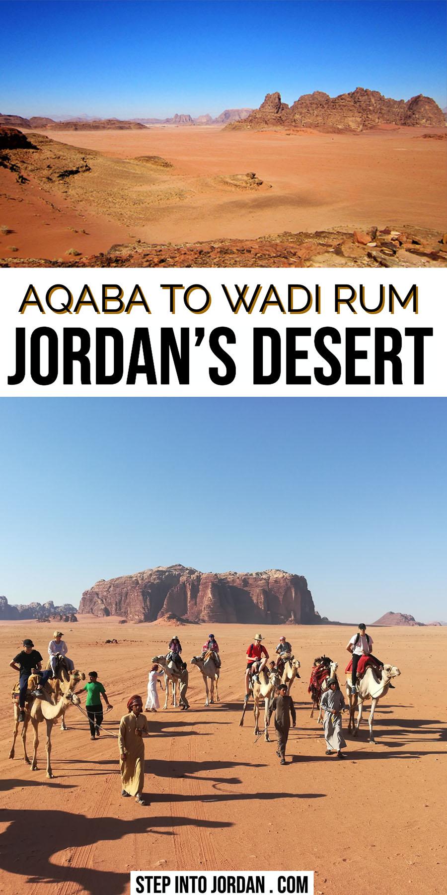 Aqaba To Wadi Rum Desert Camps