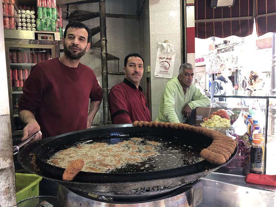What to buy in the West Bank falafel