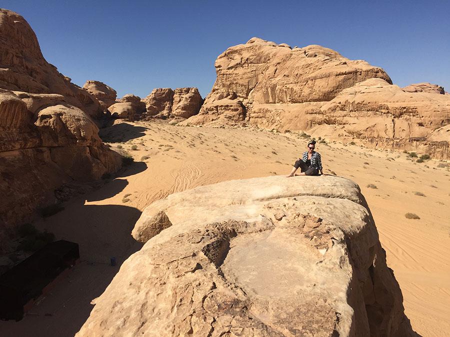 Jordan - Wadi Rum Jordan Desert Rock Bridge