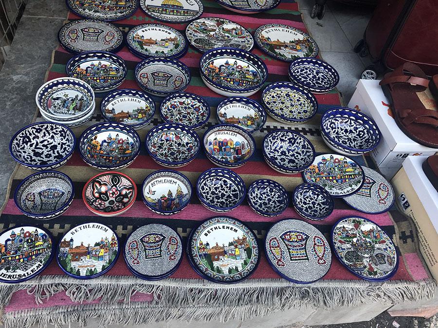 West Bank Pottery Souvenirs