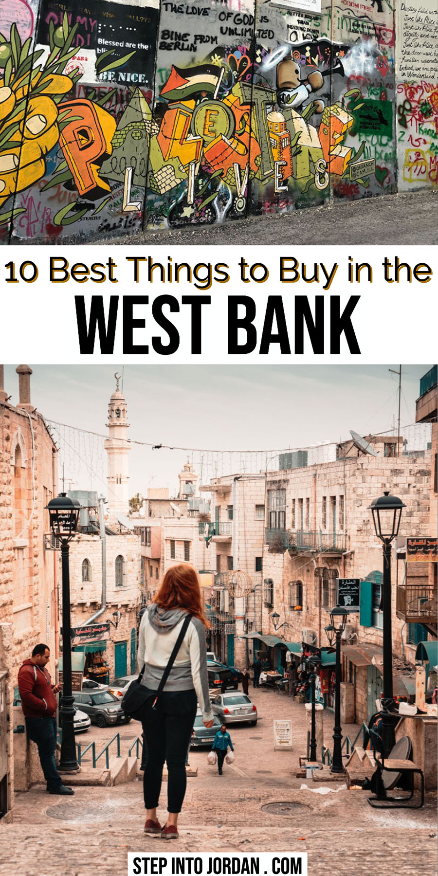What to Buy in the West Bank Palestine