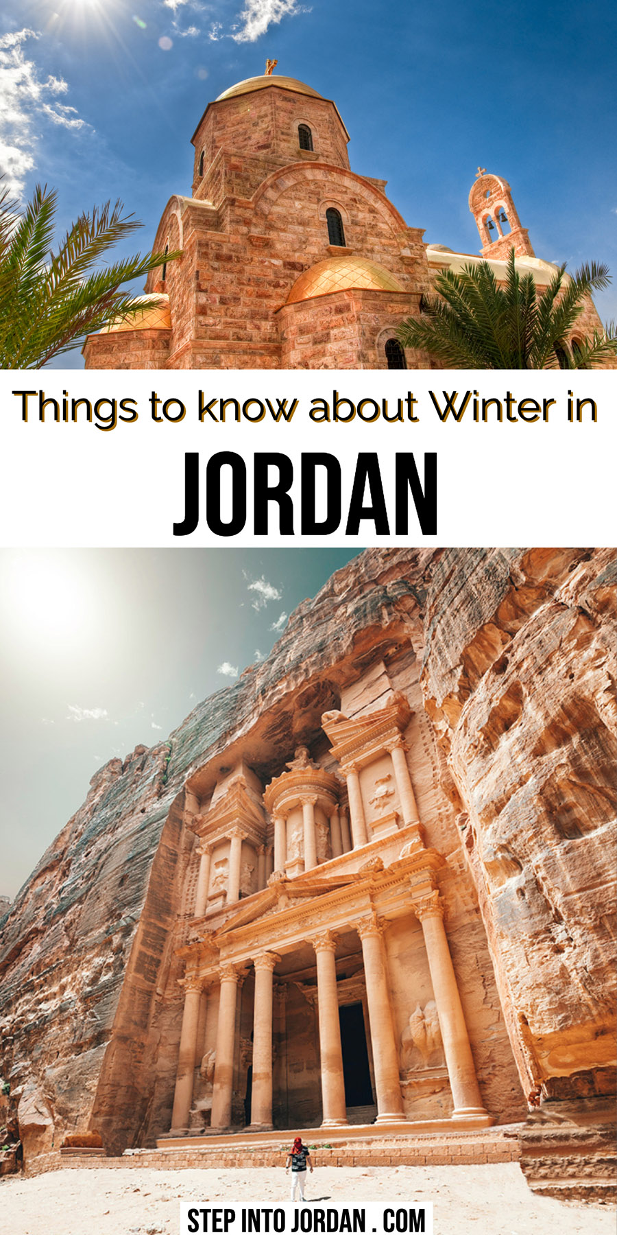 Winter in Jordan