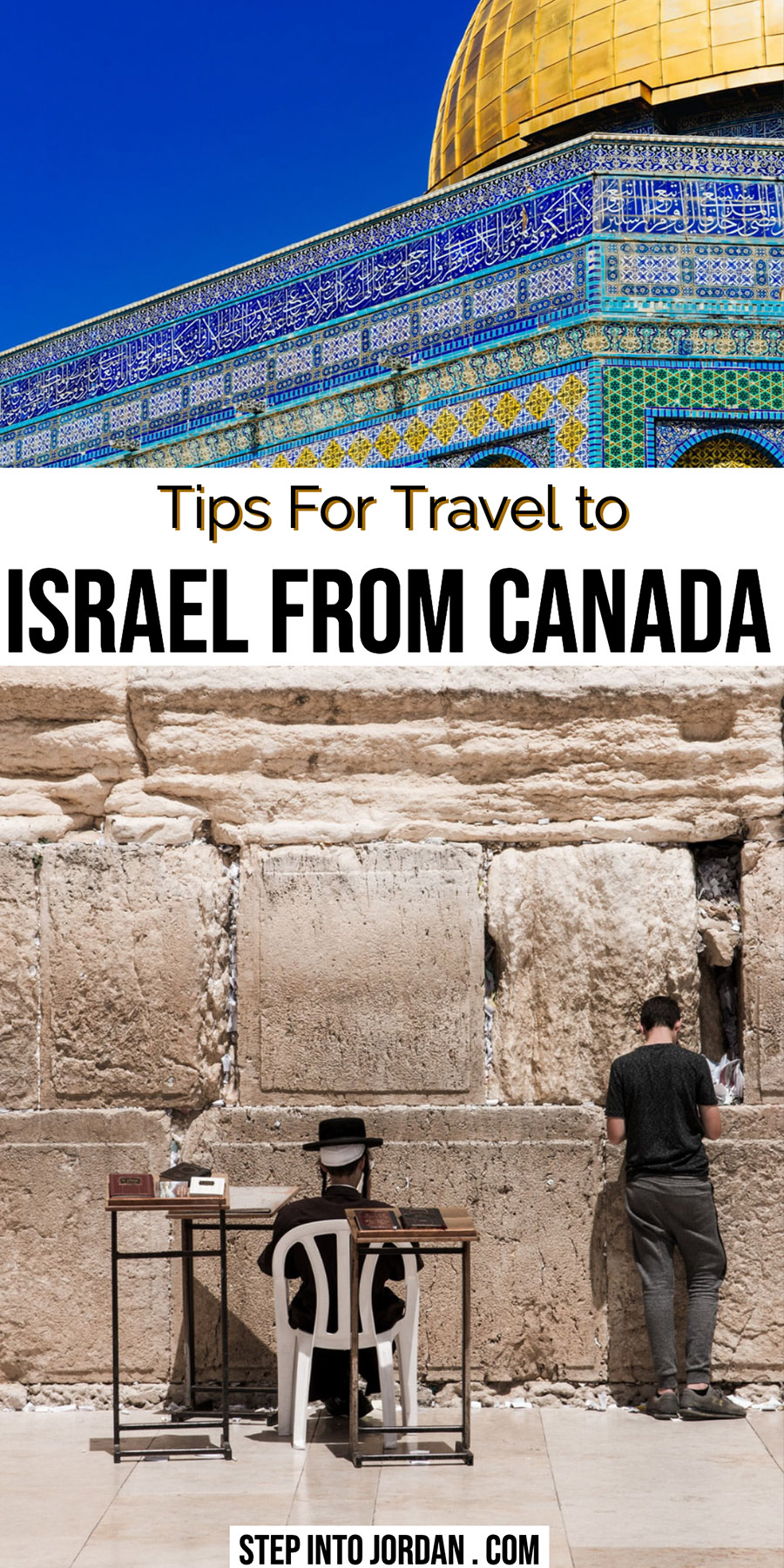 Israel Tours from Canada