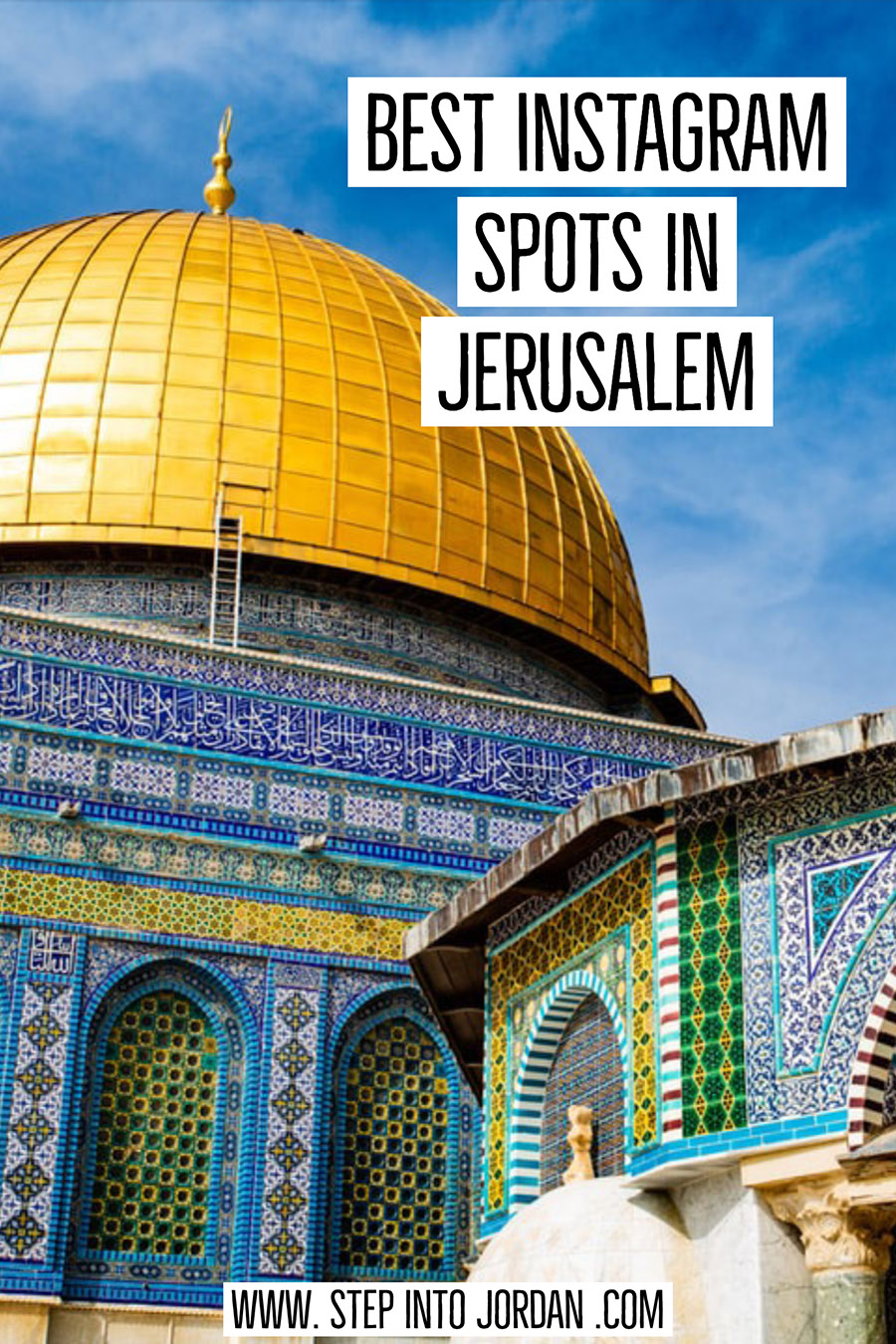 best photo spots in Jerusalem
