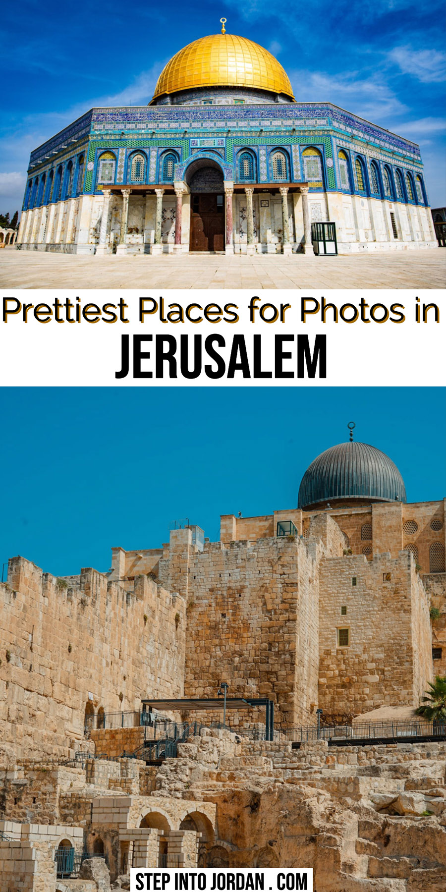 Instagrammable Places in Jerusalem