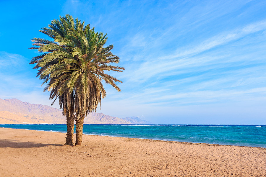 Egypt - Dahab - Red Sea Coast Beach