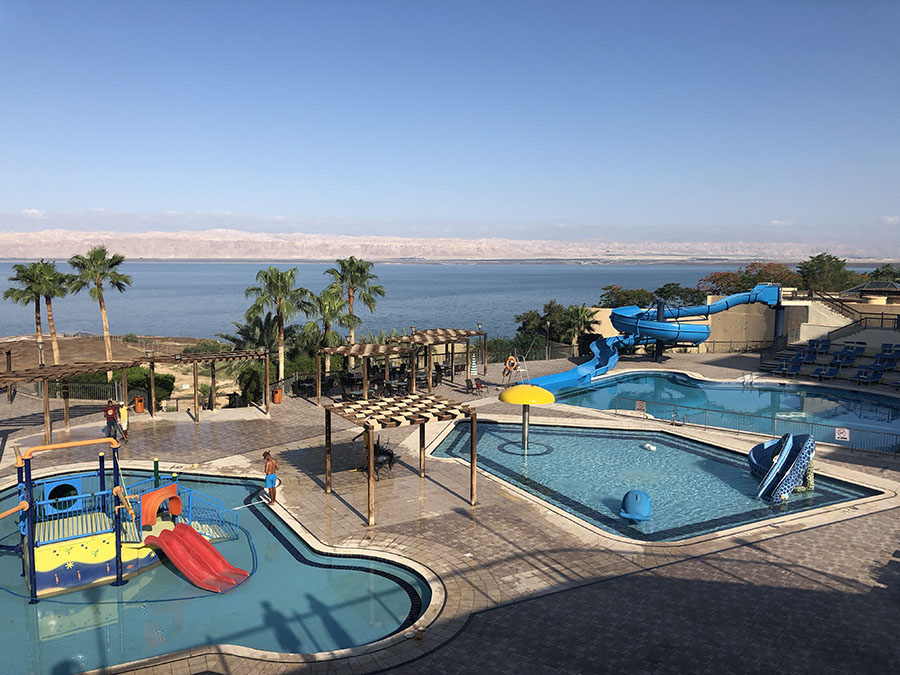 JORDAN - Dead Sea Spa Hotel Kids Pool Area