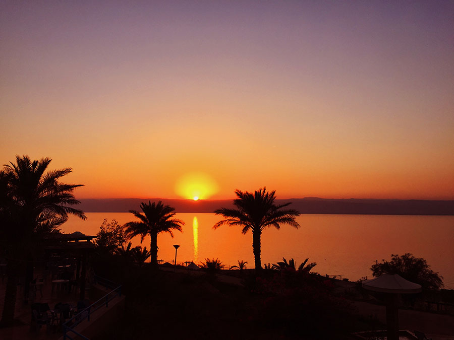 Jordan - Dead Sea Sunset