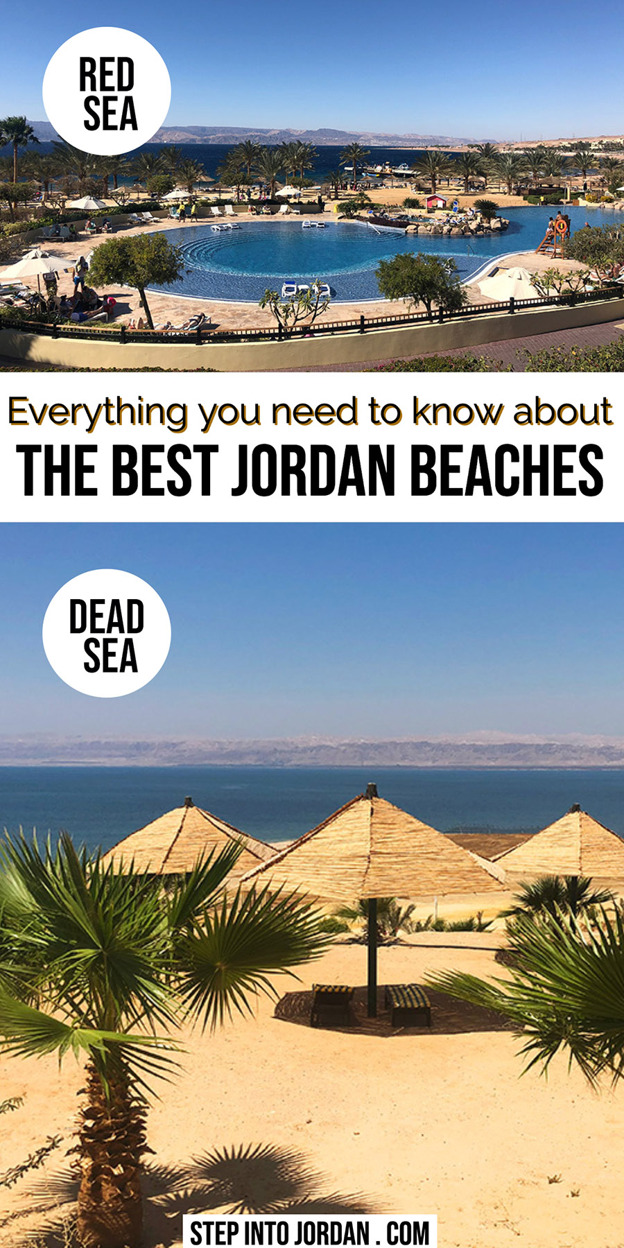 Best Jordan Beaches