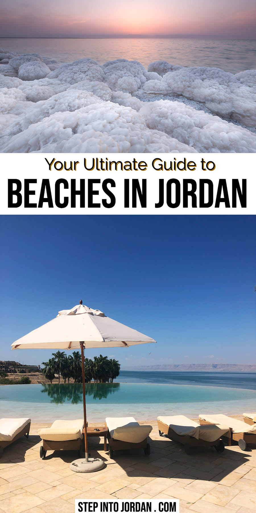Top Beaches in Jordan Red Sea and Dead Sea
