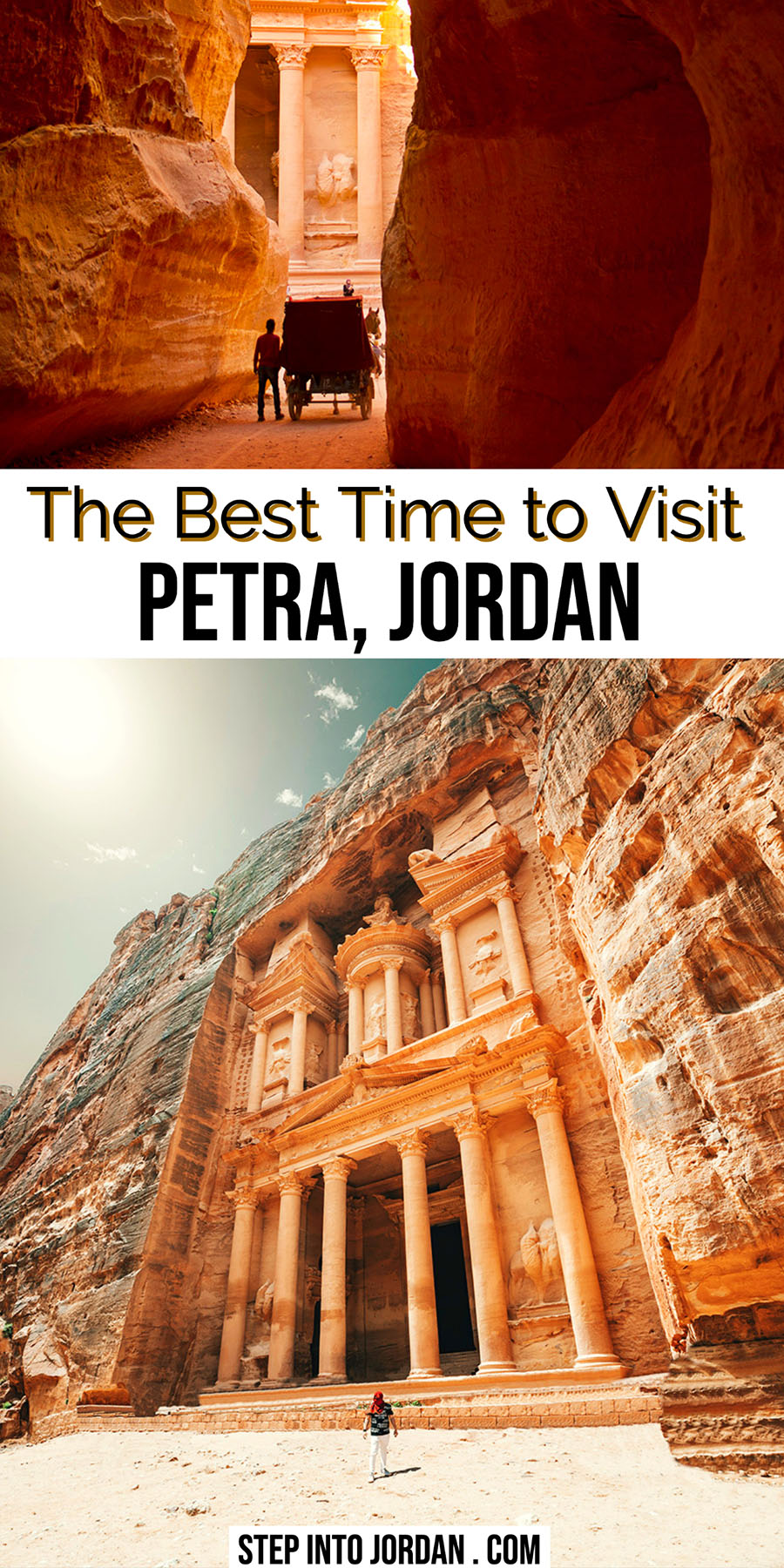 Best Time to visit Petra Jordan
