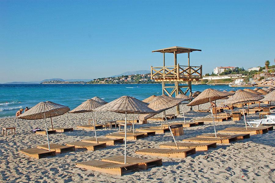 Turkey - Ilica Beach on Cesme Penninsula