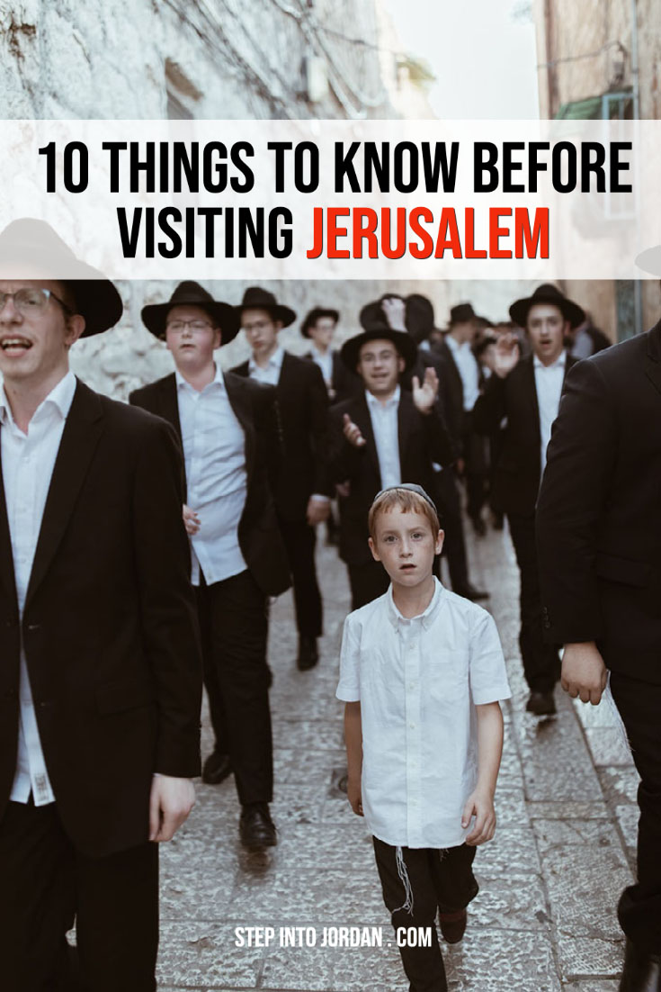 Tips for Visiting Jerusalem
