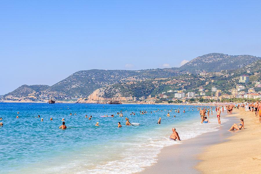 Turkey - Alayna Cleopatra Beach