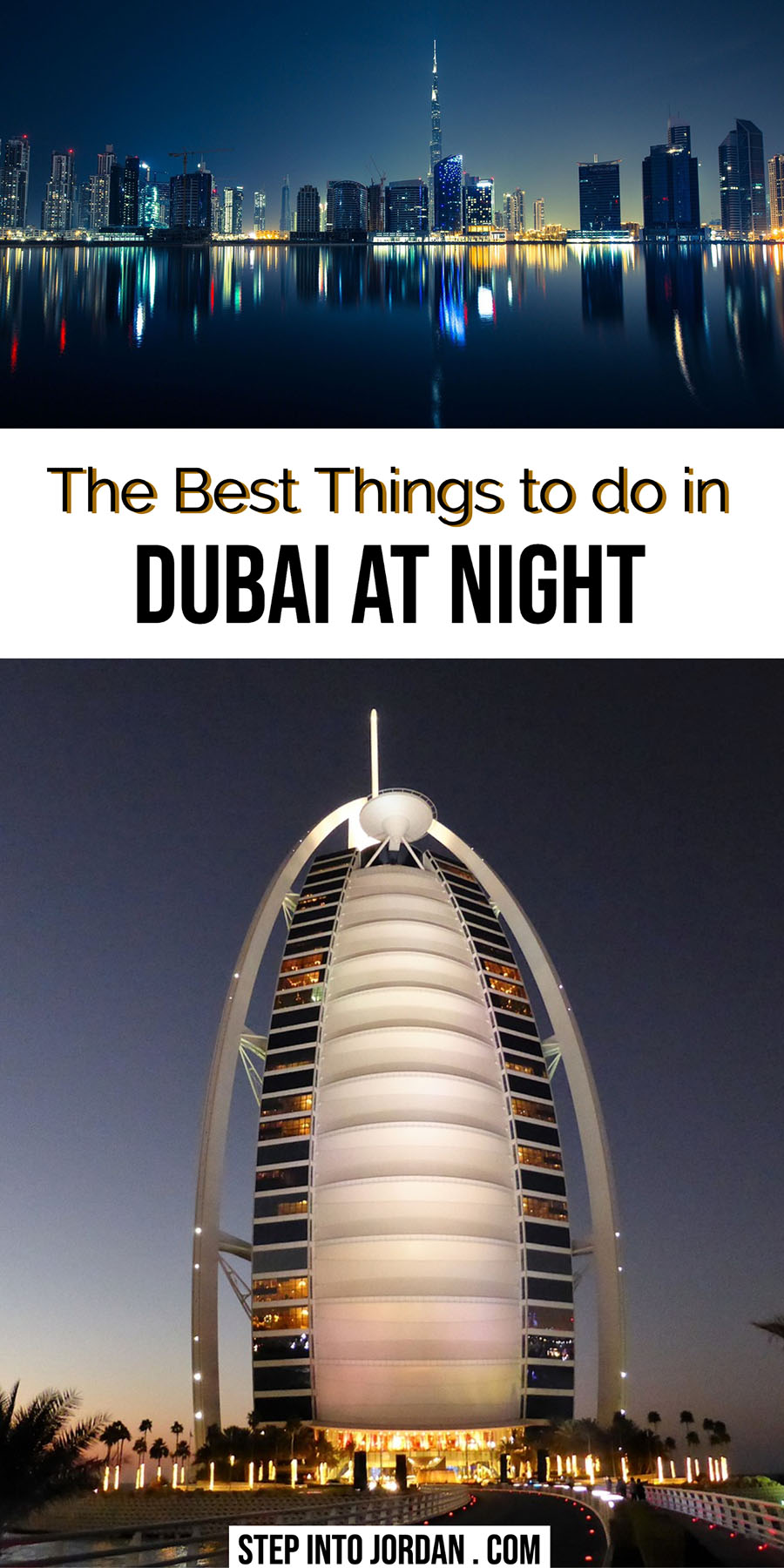 What to do in Dubai at night