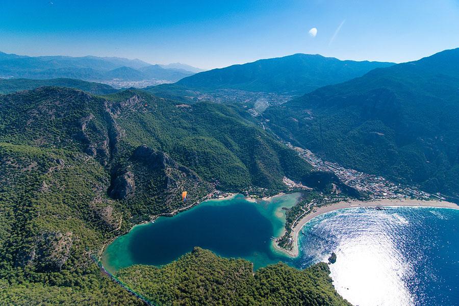 Turkey Oludeniz Beach Blue Lagoon