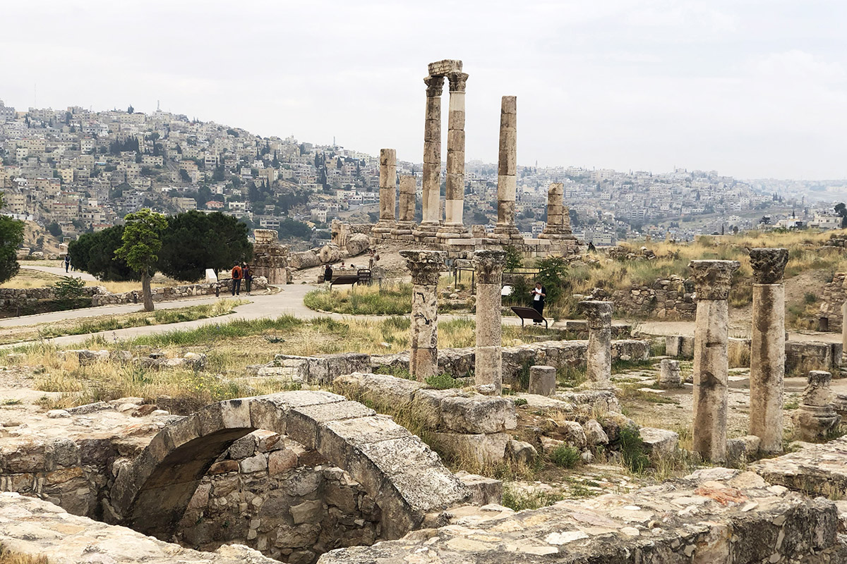 Amman weather January