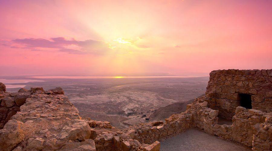Israel Masada Sunrise