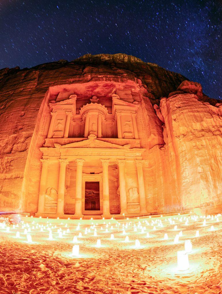 Jordan - Petra Night