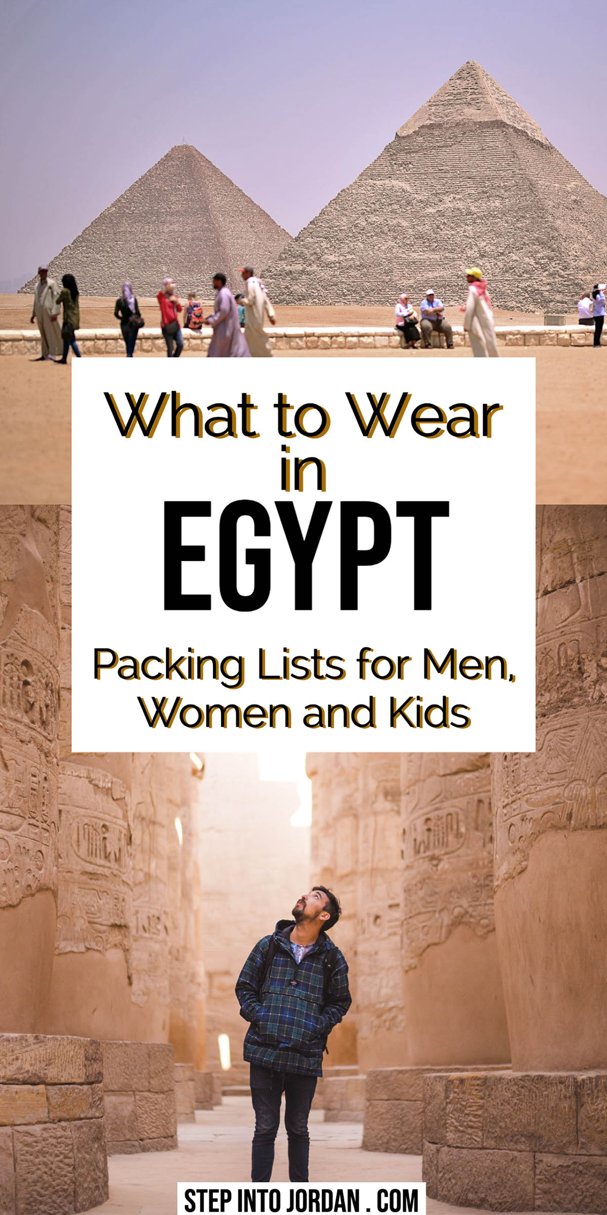 What to wear in Egypt