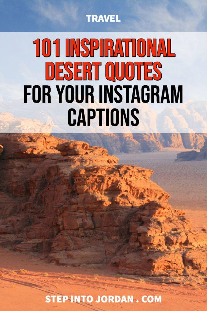 Desert captions for instagram