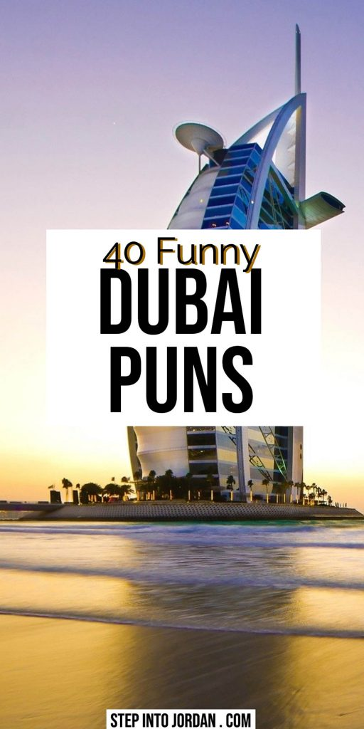 Dubai Puns and Jokes.