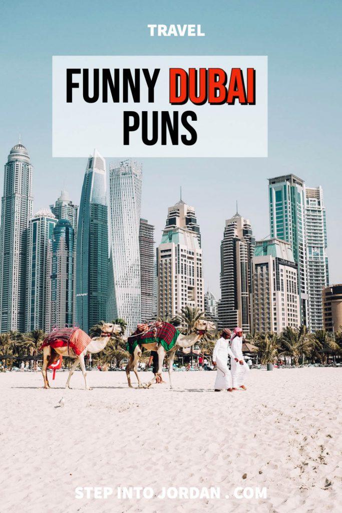 Funny Dubai puns.