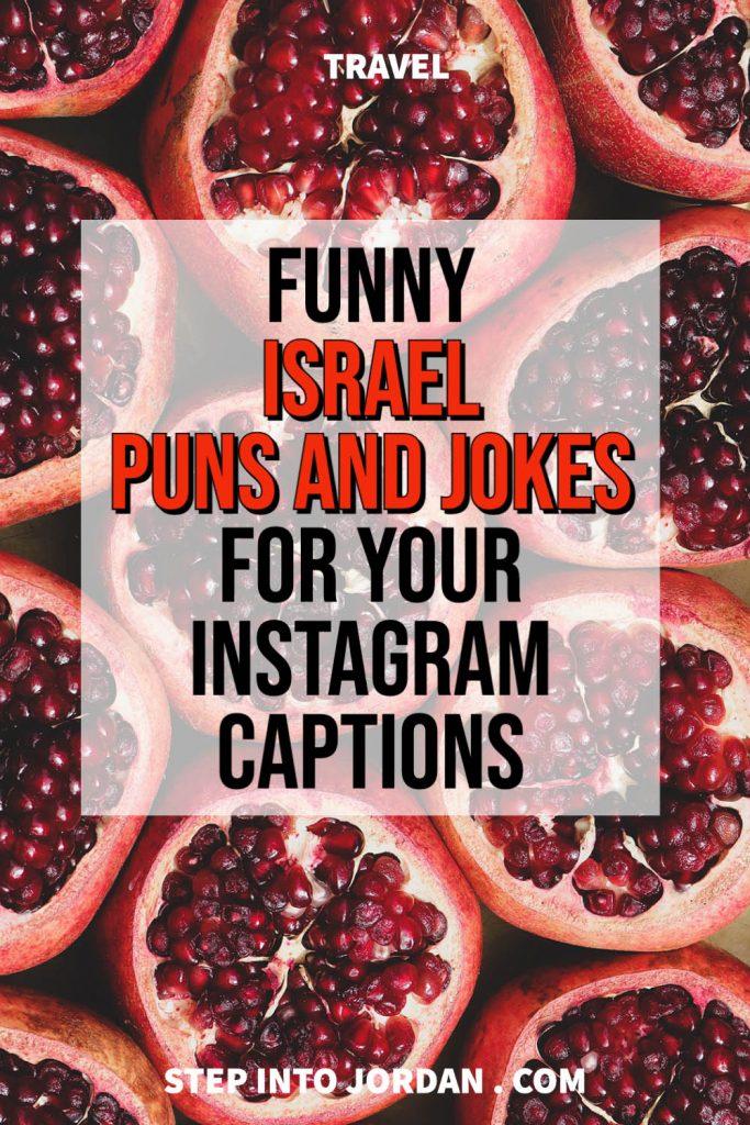 jokes about israel puns