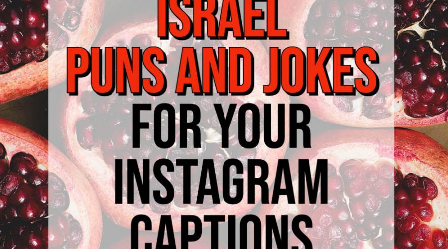 jokes about israel puns