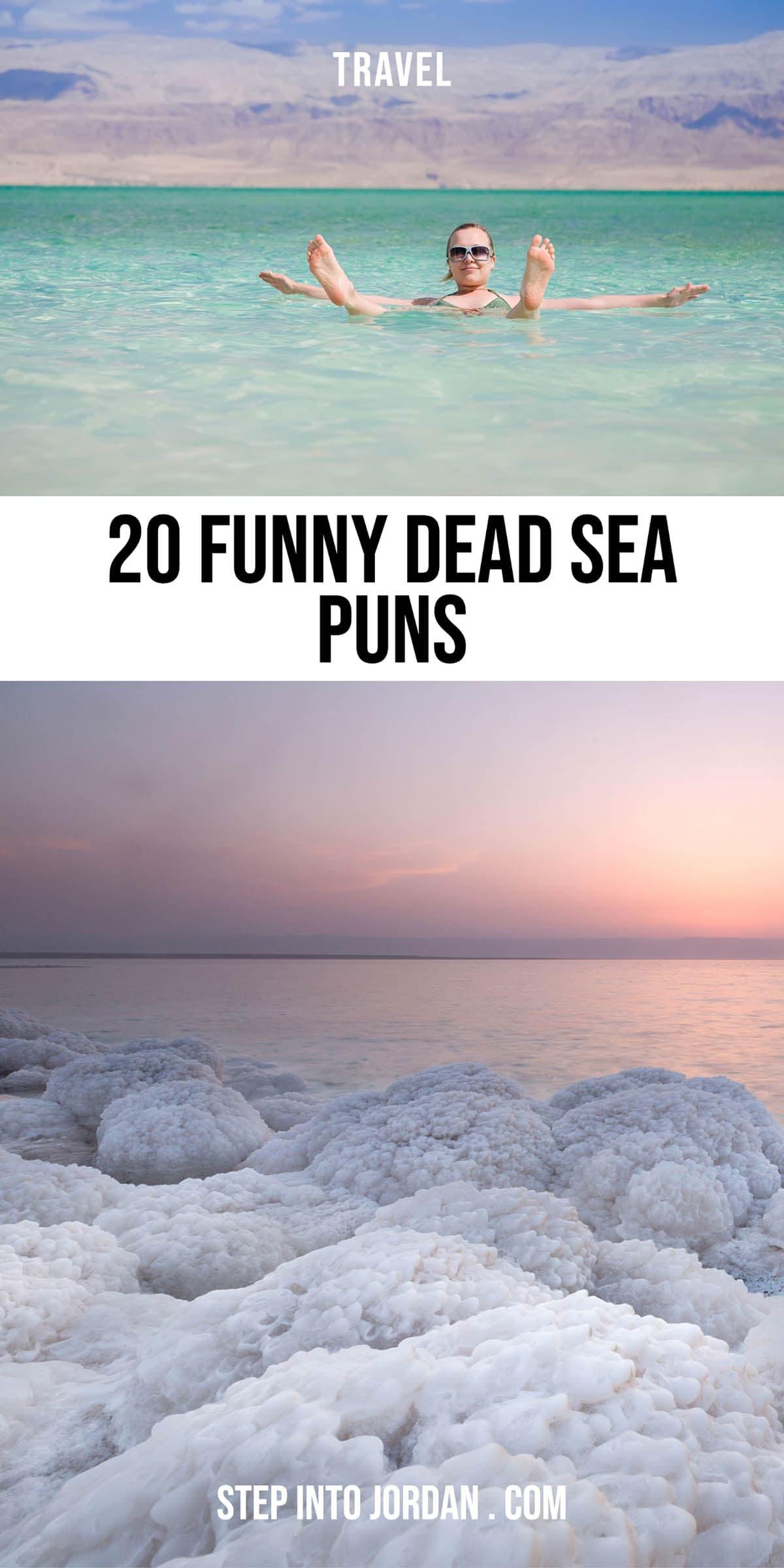 Dead Sea Puns.