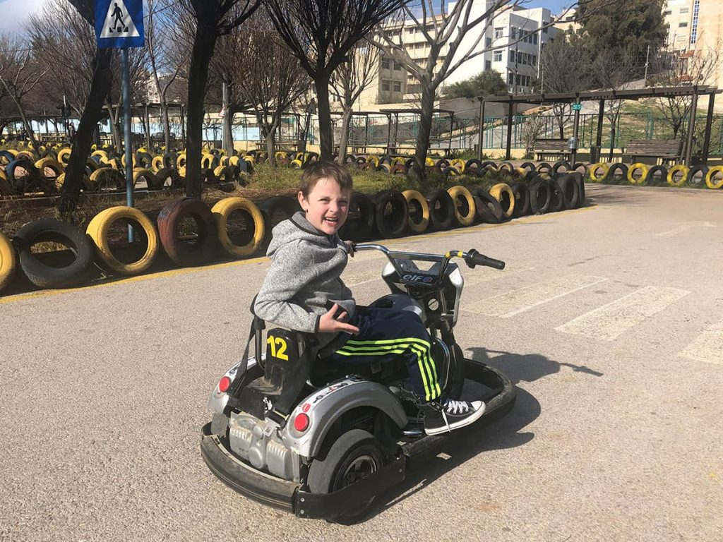 Amman go karts at Sport City Amman.